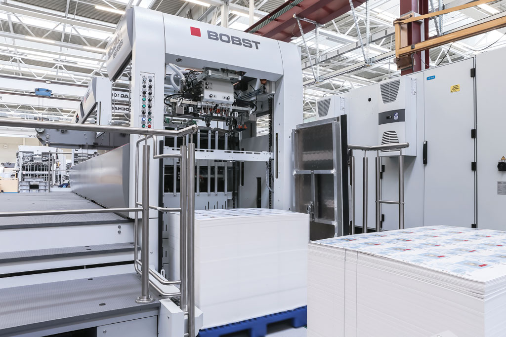 BOBST MASTERCUT 106 PER Offers Maximum Speed And Productivity